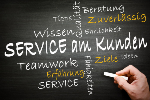 Unser Service ...